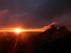 The sunrises were unreal..